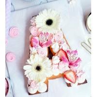 Trending Monogram Cake