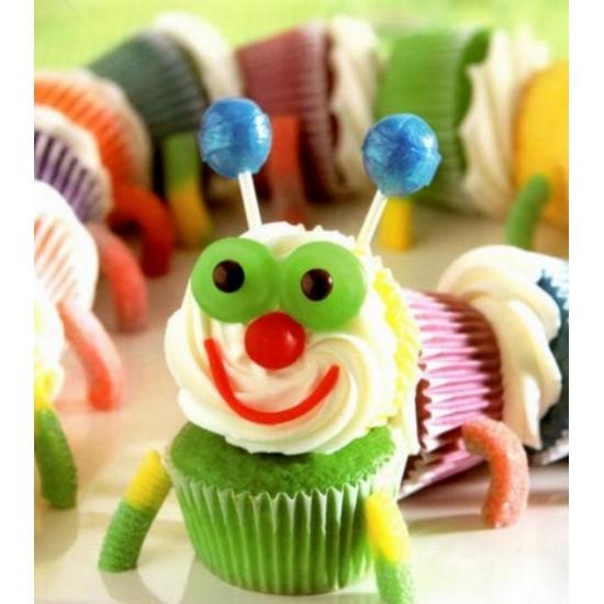 Cupcake Caterpillar Project